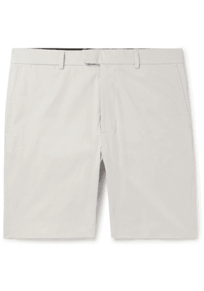 Enlist - Stretch-cotton Chino Shorts - Stone