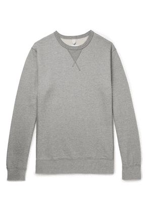 Albam - Loopback Cotton-jersey Sweatshirt - Gray