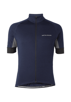 Cafe du Cycliste - Lucienne Cycling Jersey - Navy