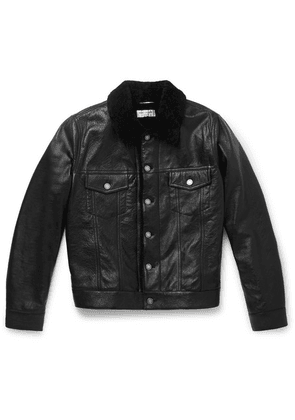 Saint Laurent - Shearling Jacket - Black