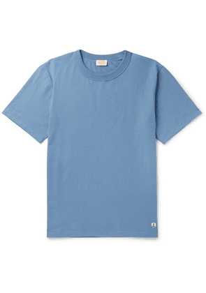 Armor Lux - Callac Slim-fit Cotton-jersey T-shirt - Blue