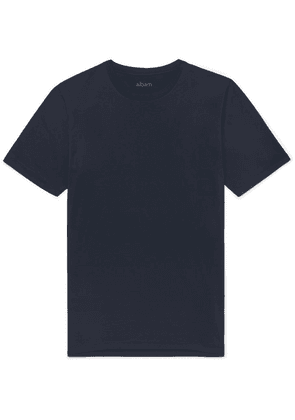 Albam - Cotton-jersey T-shirt - Navy