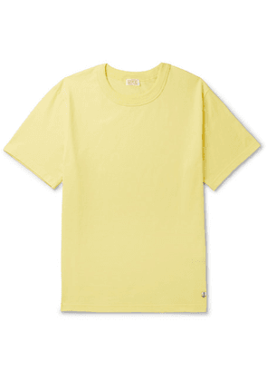 Armor Lux - Callac Slim-fit Cotton-jersey T-shirt - Yellow