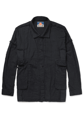 Blackmeans - Distressed Cotton Jacket - Black