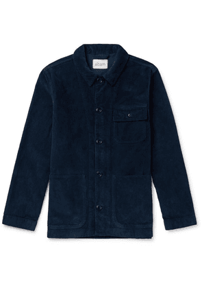Albam - Cord Board Cotton-corduroy Chore Jacket - Navy