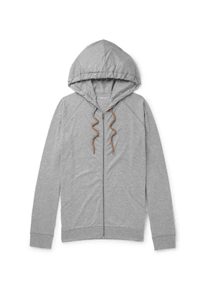 Paul Smith - Slim-fit Cotton-jersey Zip-up Hoodie - Gray