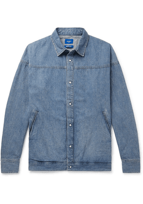 Beams - Washed-denim Shirt - Indigo