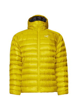 Arc'teryx - Cerium Lt Quilted Ripstop Hooded Down Jacket - Bright yellow