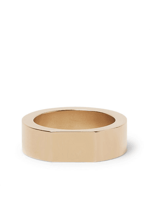 Alice Made This - Bacchus Gold-tone Signet Ring - Gold
