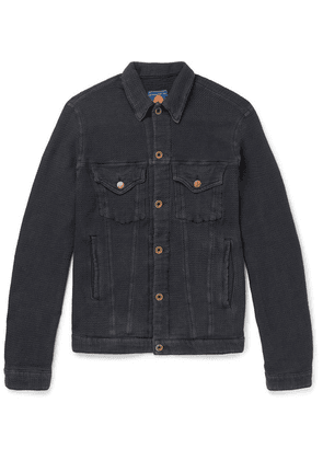 Blackmeans - Cotton Trucker Jacket - Black