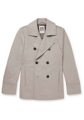 Connolly - Slim-fit Wool Peacoat - Neutral