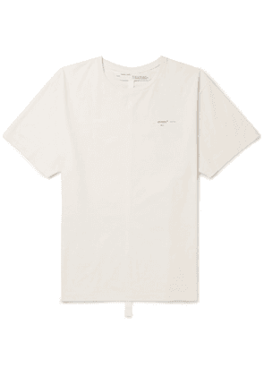 5a445412ced6 Off-White - Oversized Printed Cotton-jersey T-shirt - Off-white