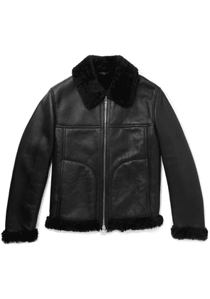 Dunhill - Shearling Jacket - Black