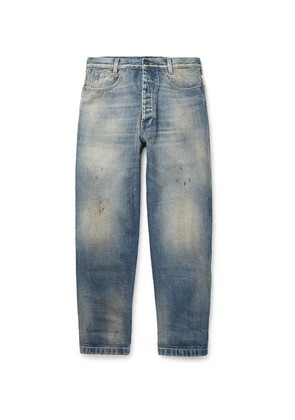 Gucci - Distressed Denim Jeans - Light blue