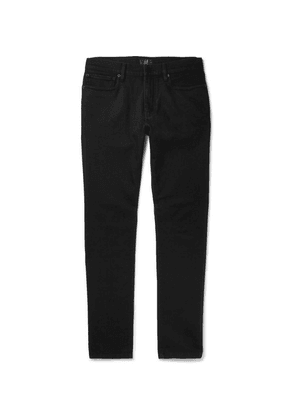 Dunhill - Slim-fit Stretch-denim Jeans - Black