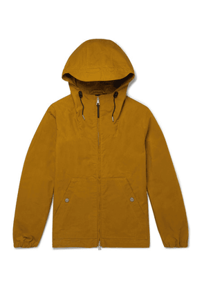 Albam - Cotton Hooded Parka - Yellow