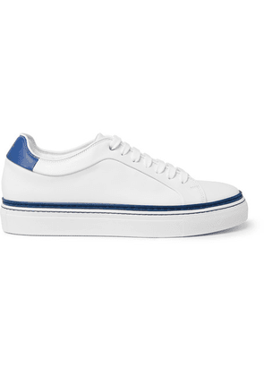Paul Smith - Basso Leather Sneakers - White