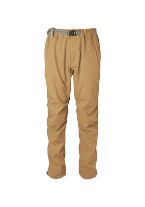 And Wander - Woven Drawstring Trousers - Beige