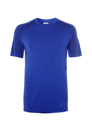 Adidas Sport - Ultralight Primeknit T-shirt - Blue