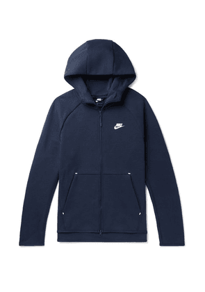 Nike - Sportswear Cotton-blend Tech Fleece Zip-up Hoodie - Navy