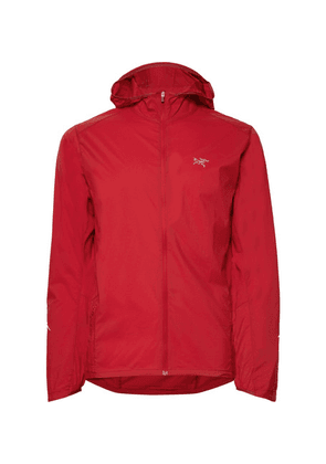 Arc'teryx - Incendo Slim-fit Mesh-panelled Lumin Hooded Jacket - Red