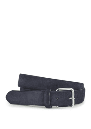 Reiss Jacob - Suede Belt in Midnight, Mens, Size 30