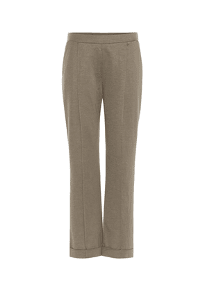 Playful Harmony cotton-blend trousers