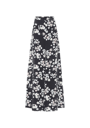 Exclusive to Mytheresa – Printed silk trousers