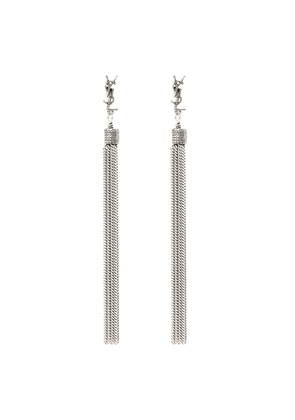 LouLou chain tassel earrings