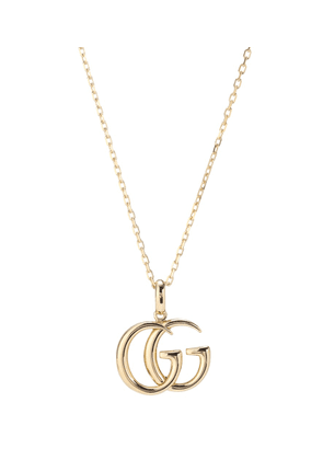 Double G 18kt yellow gold necklace