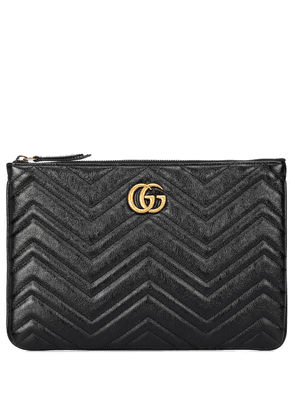 GG Marmont quilted leather clutch