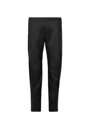 Arc'teryx Veilance - Black Sequent Slim-fit Cropped Gore-tex Coated Nylon Trousers - Black
