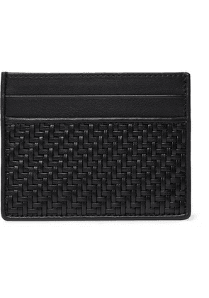 Ermenegildo Zegna - Pelletessuta Leather Cardholder - Black