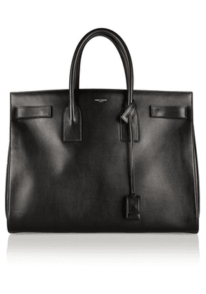 Saint Laurent - Sac De Jour Medium Leather Tote - Black