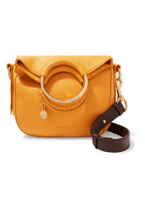 See By Chloé - Monroe Small Textured-leather Tote - Mustard