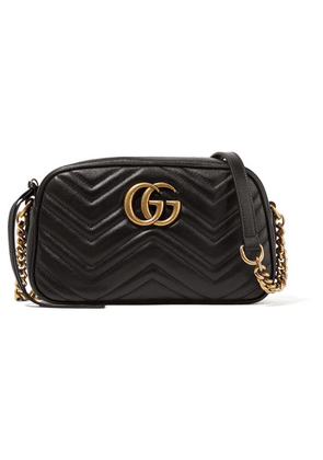 e8646d4794f Gucci - Gg Marmont Camera Small Quilted Leather Shoulder Bag - Black