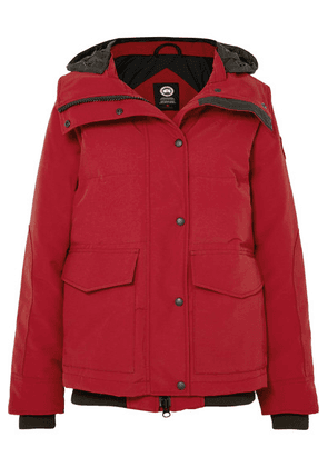 Canada Goose - Deep Cove Quilted Shell Down Jacket - Red