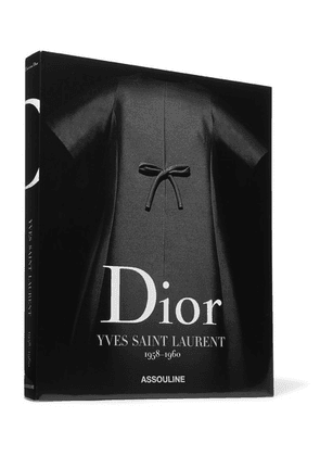 Assouline - Dior By Yves Saint Laurent 1958-1960 By Laurence Benaïm Hardcover Book - Black