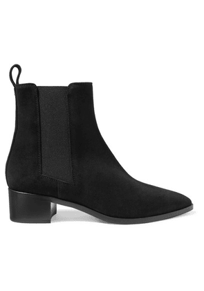 aeyde - Lou Suede Ankle Boots - Black