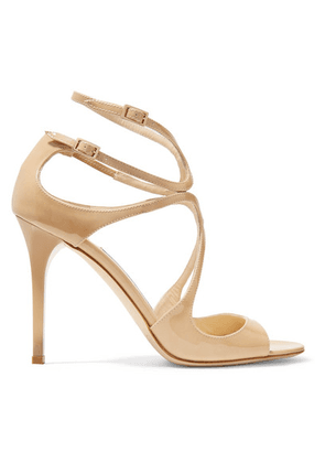 Jimmy Choo - Lang 100 Patent-leather Sandals - IT37