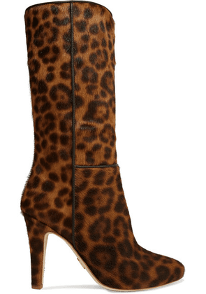 Brother Vellies - Leopard-print Calf Hair Boots - Leopard print