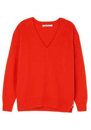 Givenchy - Wool And Cashmere-blend Sweater - Red