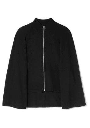 Givenchy - Wool And Cashmere-blend Cape Cardigan - Black