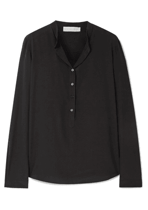 Stella McCartney - Eva Silk Crepe De Chine Blouse - Black
