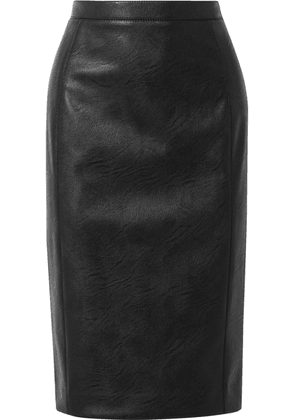 Stella McCartney - Faux Leather Skirt - Black