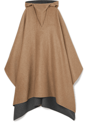 Givenchy - Hooded Cashmere Poncho - Camel