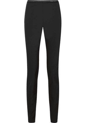 Prada - Stretch-twill Leggings - Black