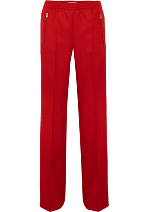 Prada - Gabardine Track Pants - Red