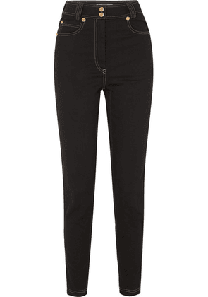 Versace - High-rise Skinny Jeans - Black
