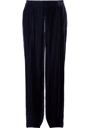 Stella McCartney - Velvet Pants - Navy